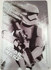 Star Wars Tin Metal Wall Plaque Stormtrooper The Force Awakens