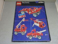 Notice Building instruction booklet LEGO TECHNIC / 8064 Motorized Universal set