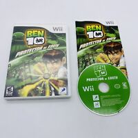 Ben 10: Protector of Earth (Nintendo Wii Game, 2007) Complete in Box CIB