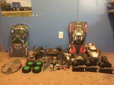 1/10 Traxxas Slash 4x4 Traxxas Rustler And Parts Lot
