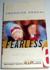 Payback No. 6 by Francine Pascal (2000, Paperback)