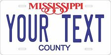 Mississippi 1981 License Plate Tag Personalized Auto Car Custom VEHICLE OR MOPED