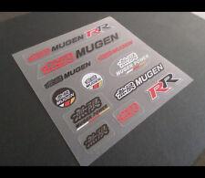 無限 MUGEN POWER CIVIC TYPE R Honda car interior / window Decal Sticker Set #2