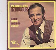 Charles Aznavour-Caroline vinyl single EP