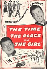 THE TIME THE PLACE AND THE GIRL pressbook, Janis Paige, Martha Vickers