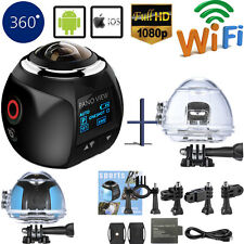 360° Panorama 4K Wifi HD 1080P Waterproof Sports Camera Action VR Cam XDV360 V1