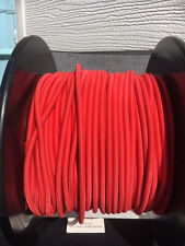 1 mtr x 5mm bungy shock cord, solid Red, same shipping for any lengths