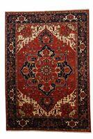 Genuine 9'9' x 13'10' Classic Heriz Design Serapi Area Rug Carpet