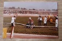 2 Original 1980s Speedway Photograph - Shawn Moran Vikings,Tigers,Aces,USA.