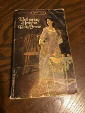Wuthering Heights, by Emily Bronte, vintage paperback, 1959