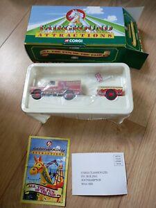 Corgi Fairground Attractions - Land Rover And Trailer - CC07401
