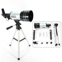 150X Zoom Astronomical Telescope Refractor Monocular Spotting Scope+Tripod