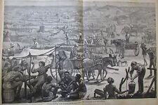 JOURNAL DES VOYAGES N° 60 de 1878 AFRIQUE MINE DE DIAMANTS CAP BONNE ESPERANCE
