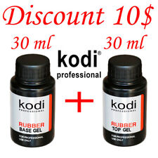 Kodi Professional - Rubber Top + Rubber Base 2pcs. 30 ml. SALE!!! Gel LED/UV