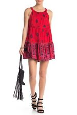Intimately By Free People   Talk to Me Trapeze Dress   Red   M