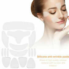 16Pcs Silicone Face Eye Forehead Anti Wrinkle Patch Reusable Facial Lifting Pad