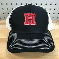 Harvard Crimson NCAA College Sideline Trucker Style Hat Cap Black/White OS