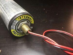 INTERROLL DRIVEROLL POWERED Conveyor ROLLER 24:1 24 VCD .75 Amp