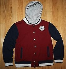 YOUTH CONVERSE ALL STAR CHUCK TAYLOR HOODED FULL SNAP JACKET -SIZE LG(12-13YRS)!