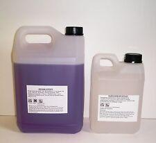 4,2kg de résine EPOXY haute transparence, anti UV. Stratification & glaçage.
