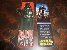 "Star Wars---Bookmarks---Lot Of 2---Darth Vader & The Glove Of Darth Vader---6"""