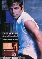 RICKY MARTIN 2000 SOUND LOADED SWEDISH PROMO POSTER
