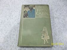 Uncle Tom's Cabin Harriet Beecher Stowe 1880 Color Plate Edition HB