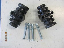 "2 Disc Harrow Bearing Complete,1"" Square W/Caps & Bolts"