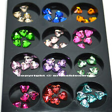 KLEANCOLOR 3D GLEAMING HEART NAIL ART DECORATION RHINESTONE PROFESSIONAL NA248