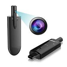 Spy Camera, HD 720P Hidden Camera Pen Mini Body Camera