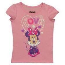 Disney Minnie Mouse Toddler Girls' Valentine's Day T-shirt -