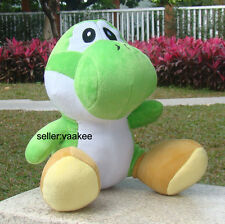 "Super Mario Bros Plush Toy Green Yoshi 13"" Large Dragon Stuffed Animal Soft Doll"