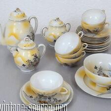 exklusives altes Porzellan Tee Service 26 teilig für 6 Personen Japan um 1920