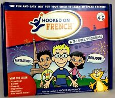Hooked on Phonics French 3 Level Foreign Language Homeschool Learning Education