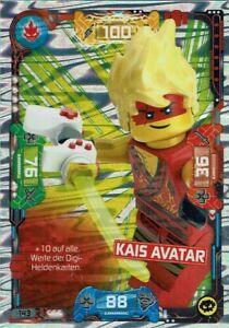 Lego ninjago Series 5 TCG Trading Cards Card No. 143 Quay Avatar