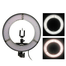 """13"""" 45W LED Ring Video Fill Light 5500K Dimmable Stepless Brightness for Camera"""