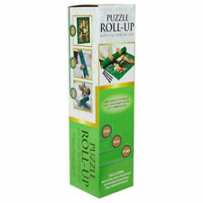 Crown - Puzzle Roll Up Storage System, Straps for 2000pc Jigssaw Puzzle Pieces (120 x 80 cm) - Green