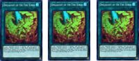 3 x Onslaught of the Fire Kings  HISU-EN055 Super Rare 1st Ed YuGiOh Cards