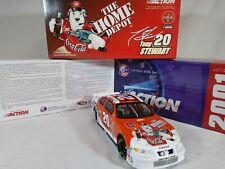 Action 1:24 Tony Stewart Coca-cola Polar Bear 2001 Grand Prix Toys For Tots