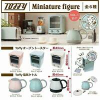 J Dream TOFFY Toaster, electric kettle Gashapon 6set mini figure capsule toys