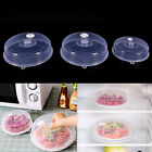 Microwave Plate Cover Food Dish Lid Ventilated Steam Vent Kitchen Cookings PR