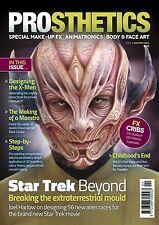PROSTHETICS Magazine #4: Make-Up Effects w/ STAR TREK X-Men JOEL HARLOW New!