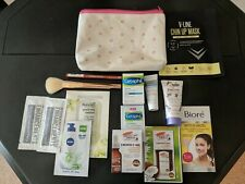 Ipsy/Walmart Bag with 6 beauty Products SooAe Rimmel Cetaphil Dove CHIQUE Rodan
