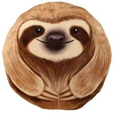 CUTE SLOTH ROUND SUPER SOFT CUSHION PILLOW NEW WITH TAGS