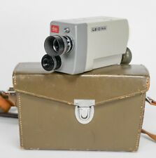 Leicina 8 mm camera by Leitz (Leica) with original case.Working great