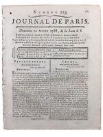 Châteaudun en 1788 Boutencourt Vendôme Famin Chimie Théâtre Lauverjat Paris