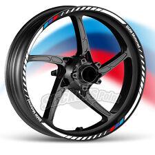 kit Adesivi moto BMW Motorrad strisce RACING9  mod.2 cerchi ruote stickers label
