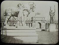 Glass Magic Lantern Slide WORLDS COLUMBIAN EXPOSITION NO10A 1893 PHOTO CHICAGO