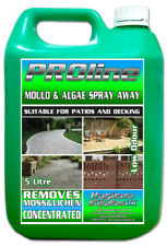 Patio Decking Fencing Green Mould Algae Remover Drive Cleaner Path Magic 1 x 5L
