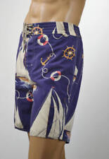 Ralph Lauren Blue Nautical Sailing Schooner Swim Suit Surf Board Trunks NWT-XL